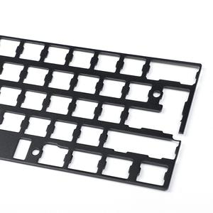 Image 2 - אוניברסלי Anodized אלומיניום מיצוב לוח צלחת תמיכה ISO ANSI עבור GH60 PCB 60% מקלדת DIY משלוח חינם
