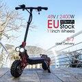 OBARTER X3 11 дюймов колеса 2400W E скутер с 48V двойной мотор Сильный мощность Электрический скутер