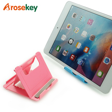 Arosekey Foldable Tablet Stand Support Ipad Holder Mini 4 3 2 Mount For Phone Adjustable Multi-angle Xiaomi Samsung
