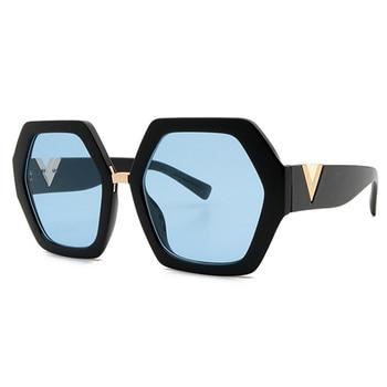 2021 Luxury Square Sunglasses Ladies Fashion Glasses Classic Brand Designer Retro Sun Glasses Women Sexy Eyewear Unisex Shades - Blue