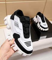 Top quality luxury Brand Triple Transparent Sole Shoes Dad shoes Non slip soles Sneakers Fashion Men Casual Shoes 35 46