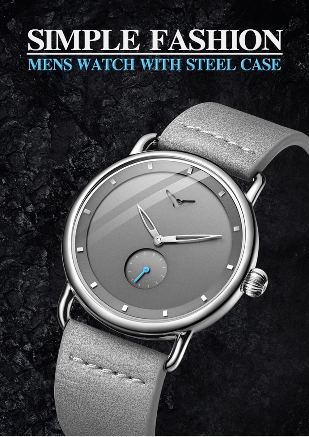 Hd0d7b287e90b46008e1e51dc1e24b19d3 ONOLA top brand leather men watches clock fashion sport simple casual waterproof Wrist watch men relogio masculino