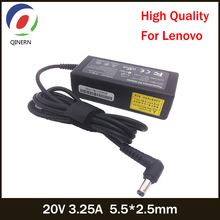 20V 3.25A 65W 5.5*2.5mm Laptop Charger For Lenovo U130 U350 U310 U410 U430 U450