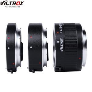 Макроудлинитель VILTROX для камеры, 3 шт., для Canon EOS EF, с автофокусом, адаптер для объектива, для камеры, с функцией автофокуса, 3 шт.