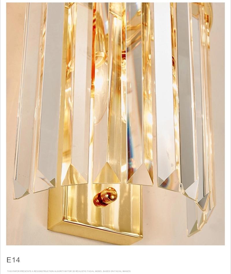 Kluzzi simples nordic ferro de ouro lâmpada