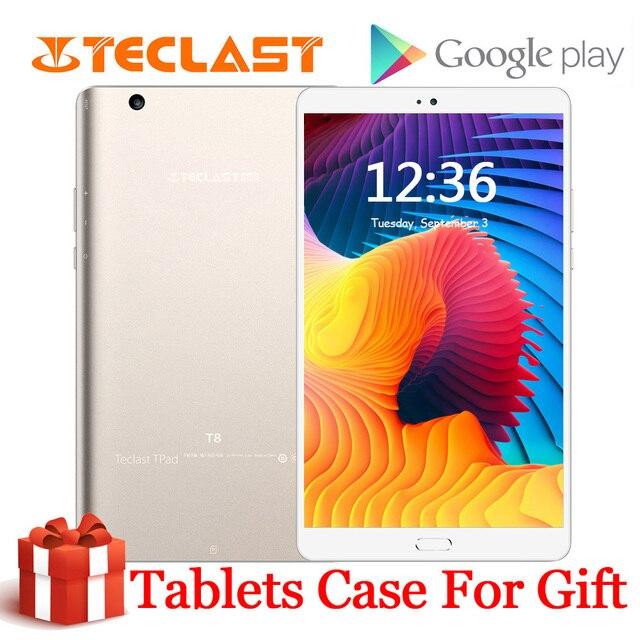Teclast T8 Tablet Android 8.4 Inch tabletten Netbook Vingerafdrukherkenning PC 2560x1600 4GB RAM 64GB ROM MTK8176 13.0MP