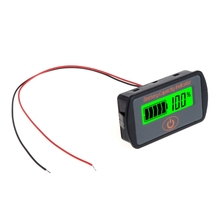 Voltmeter Indicator Battery-Capacity Lithium-Battery Car Lead-Acid LCD 5-70V LY7S Adjustable