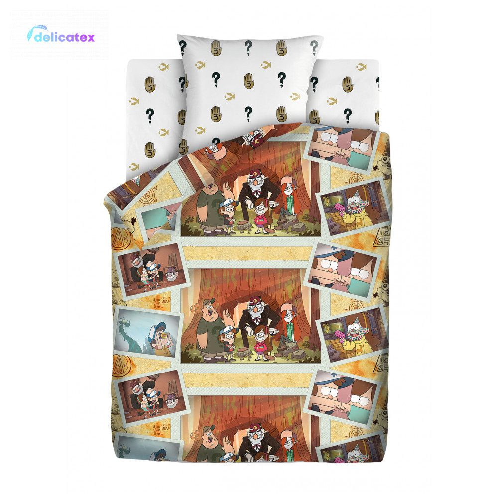 Bedding Sets Delicatex 16137-1+16138-1 Vospominaniya Home Textile Bed Sheets Linen Cushion Covers Duvet Cover Baby Bumper Cotton