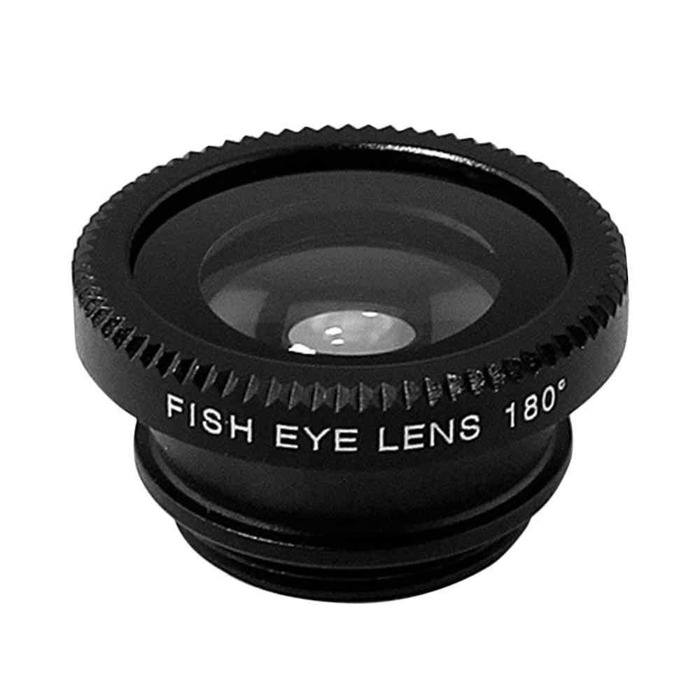 3-in-1 Multifunzionale Del Telefono Lente Kit Pesce Lens + Macro Lens + Obiettivo Grandangolare Lens Trasformare Telefono in Macchina Fotografica Professionale