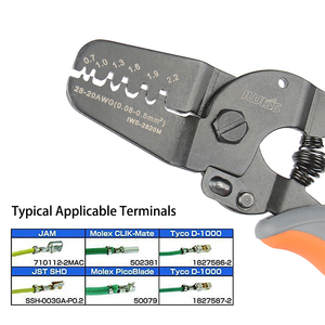 Image 5 - iwss 2820 XH2.54 Crimping Tool with 2P, 3P, 4P 5P,  XH2.54 Pin and Housing Terminals Kits