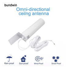 Antenna 3G Router-Modem Outdoor 4G LTE Connector TS9/SMA 12dbi Bundwin with 5m Dual-Slider