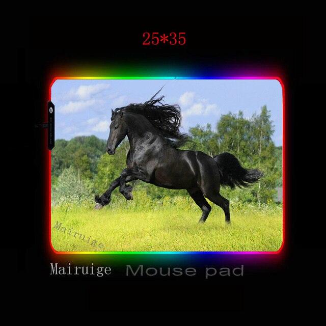 Фото большой игровой коврик для мыши mairuige dark horse с аниме