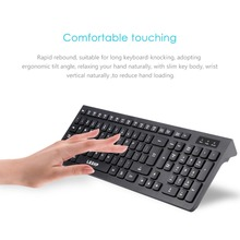 Ultra-dünne Schokolade Wired Tastatur Desktop Office Home Spiele Dünne Stumm Computer 104 Schlüssel Volle-größe Ergonomisches Design