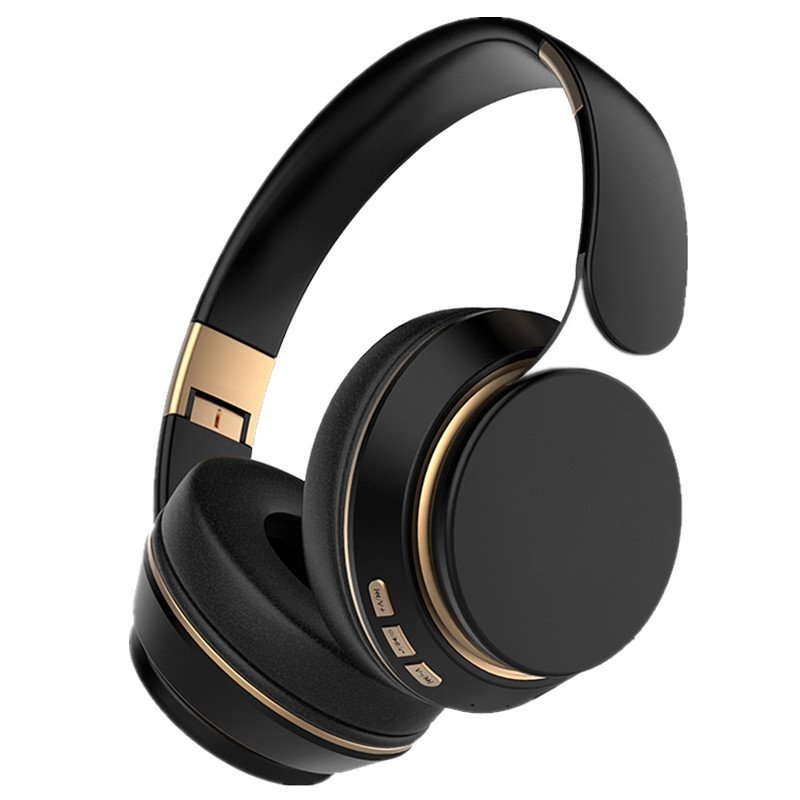 Wireless Bluetooth Headphones V5.0 bass Foldable Stereo music Headset Over ear with microphone Noise Reduction Gaming Earphones