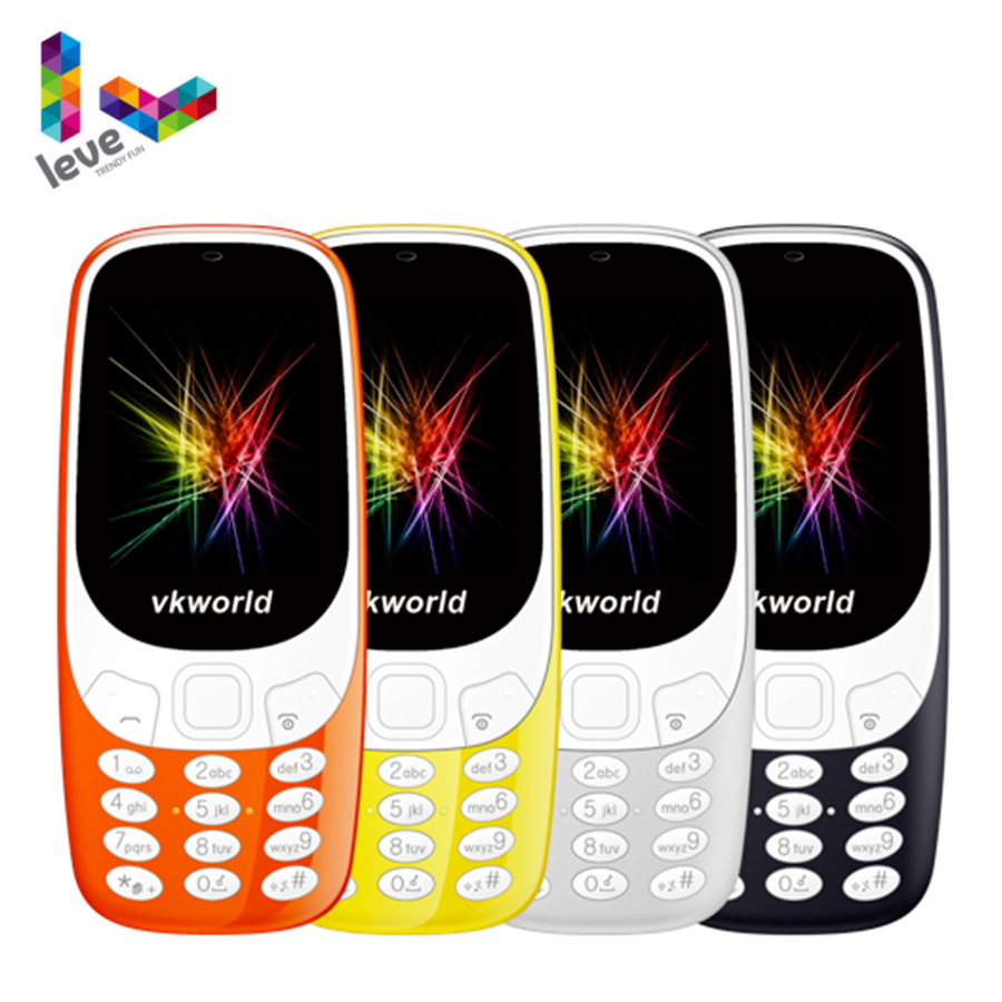 "2017 Version Nokia 3310 (2017) Dual&Single Sim 2.4"" 2G GSM Unlocked Mobile Phone Original Refurbished Colorful Cellphone"