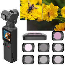 Filtr obiektywu dla FIMI dłoni kieszonkowy aparat ND-PL CPL aparat profesjonalny filtr ND gwiazda noc ND64 szkło do FIMI dłoni akcesoria tanie tanio BRDRC Lens Filters Kit For FIMI PALM Pocket Camera