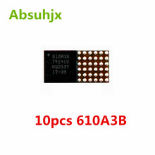 Absuhjx 10pcs Original 610A3B U2 Charging ic for iPhone 7 & 7 Plus 7P 7G Charger IC Chip U4001 36pin on Board Ball Parts