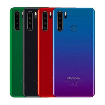 Перейти на Алиэкспресс и купить Смартфон Blackview A80 Pro, 4 ГБ, 64 ГБ, 6,49 дюйма, Восьмиядерный процессор Helio P25, Android 9,0, глобальная версия, 4G, мобильный телефон, 4680 мА/ч