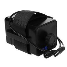 12V עמיד למים סוללה מקרה תיבת עם USB ממשק תמיכת 3x18650 26650 סוללה DIY כוח בנק עבור אופניים LED אור מנורת Smartph