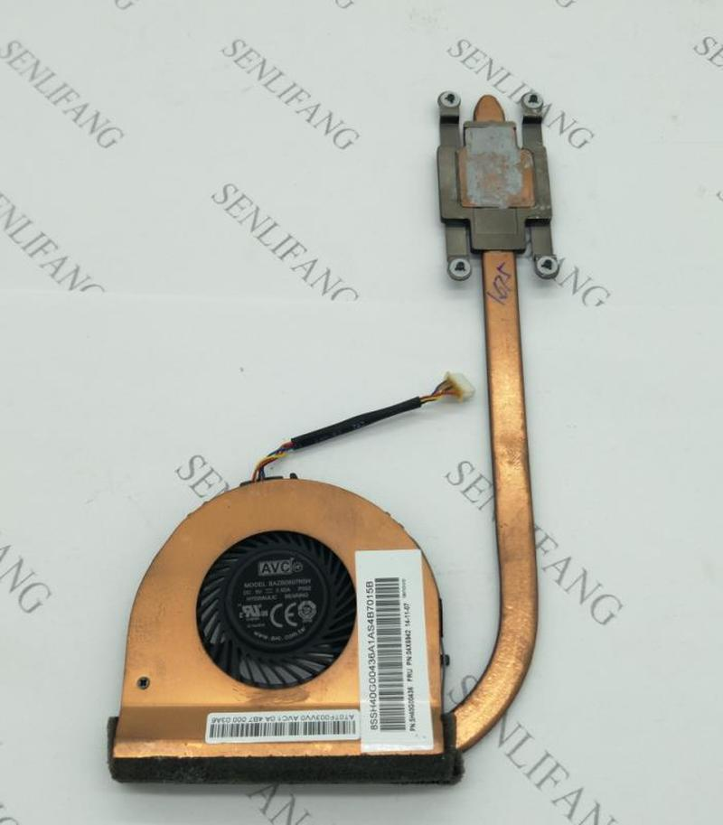 Free Shipping FOR Lenovo ThinkPad T450 AT0TF003VV0 Cooling Fan & Heatsink Assembly Radiator Cooler WORKING Used