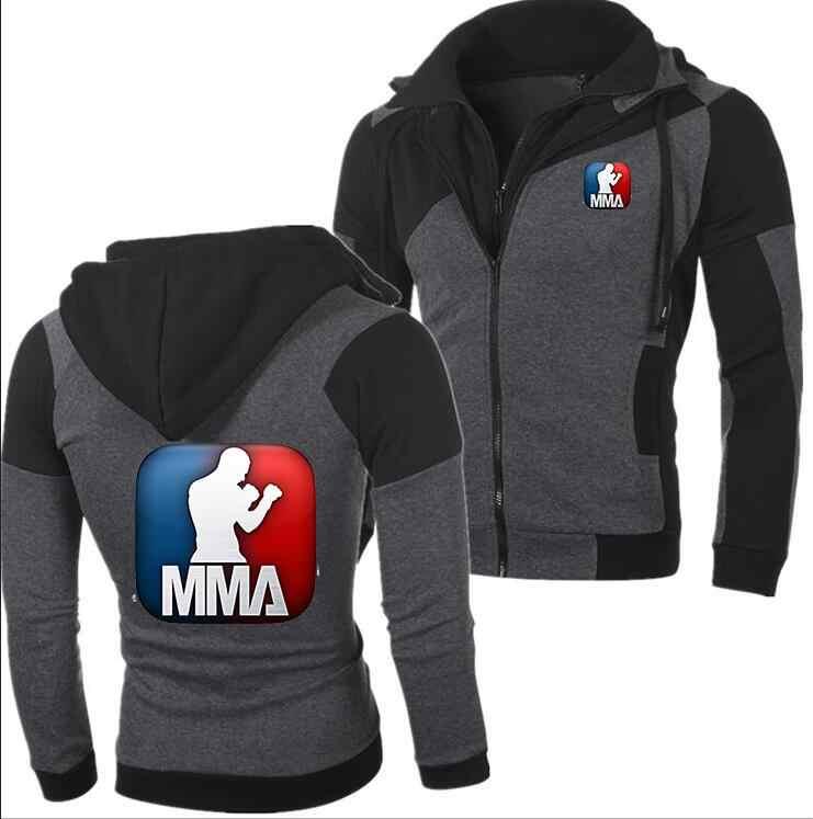 2018 Winter Neue Mode MMA Hoodie Subaru Männer Zipper Strickjacke Mercedes F1 Hoodie Sweatshirts UFC Mantel Lässig Tops