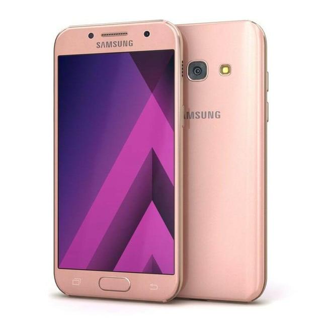 "Samsung Galaxy A3 2017 A320F A320FL RAM 2GB ROM 16GB Mobile Phone Octa Core 4.7"" 13MP&8MP Exynos NFC Fingerprint Cellphone 3"