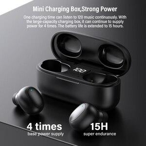 Image 2 - DACOM U7 TWSหูฟังไร้สายTrueหูฟังบลูทูธพร้อมไมโครโฟนมินิในหูฟังแฮนด์ฟรีหูฟังสำหรับiPhone samsung Huawei