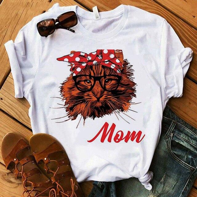 Cat Mom Women's T-Shirt  3