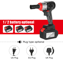 Impact-Wrench Torque Brushless-Motor Multifunction Cordless And in 980nm with Fast-Charger