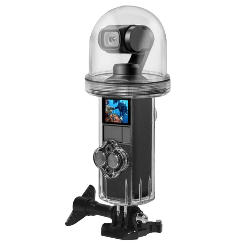 Image 4 - Waterproof Diving Case Underwater Housing Shell Case with Screw 360 Degree Full Shot Key for DJI OSMO Pocket Sport Action Camera-in Sports Camcorder Cases from Consumer Electronics
