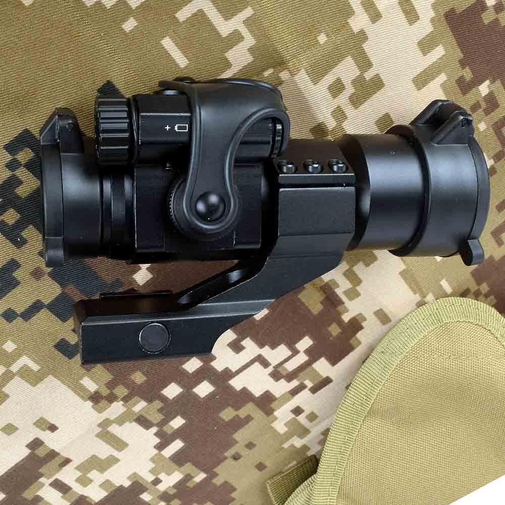 Голографический красный точечный прицел M2 охотничий оптический прицел на винтовку с 20 мм 11 мм рельсовым креплением Коллиматорный прицел сн...