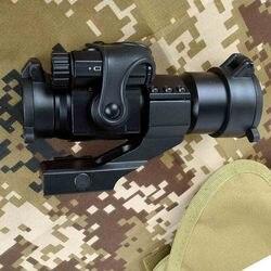 Holográfica red dot sight m2 caça óptica rifle scope com 20mm 11mm ferroviário montar colimador vista sniper arma caça
