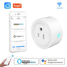 Smart Wifi Socket US Power Plug Mobile APP Outlet Voice Remote Control Works with Amazon Alexa Google Home for Smart Life Tuya qiachip wifi smart home socket app remote control light switch work with amazon alexa google home for phone french plug socket