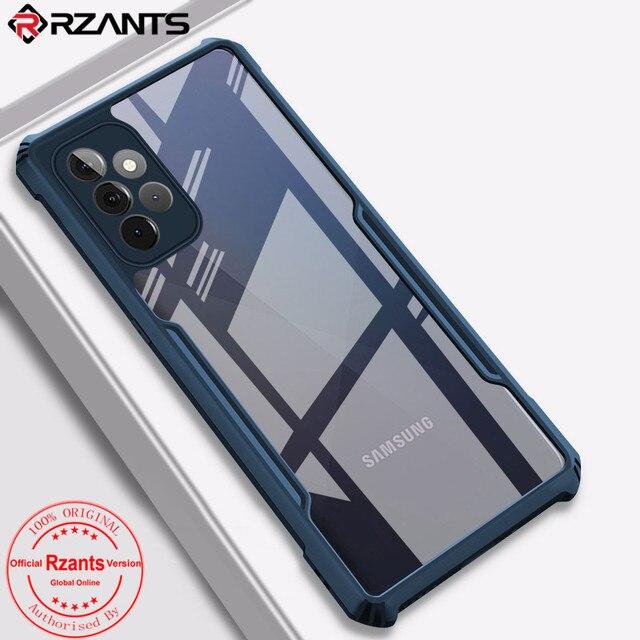 RzantsサムスンギャラクシーA52 A72 A32 A42 5グラム4グラムケース刃エアバッグ耐衝撃ケース透明電話シェルfundaソフトカバー