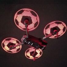 Творческий DIY программируемый светодиодный Пропеллер для DJI Mavic 2 Pro/Zoom Drone аксессуары малошумные складные винты Blade