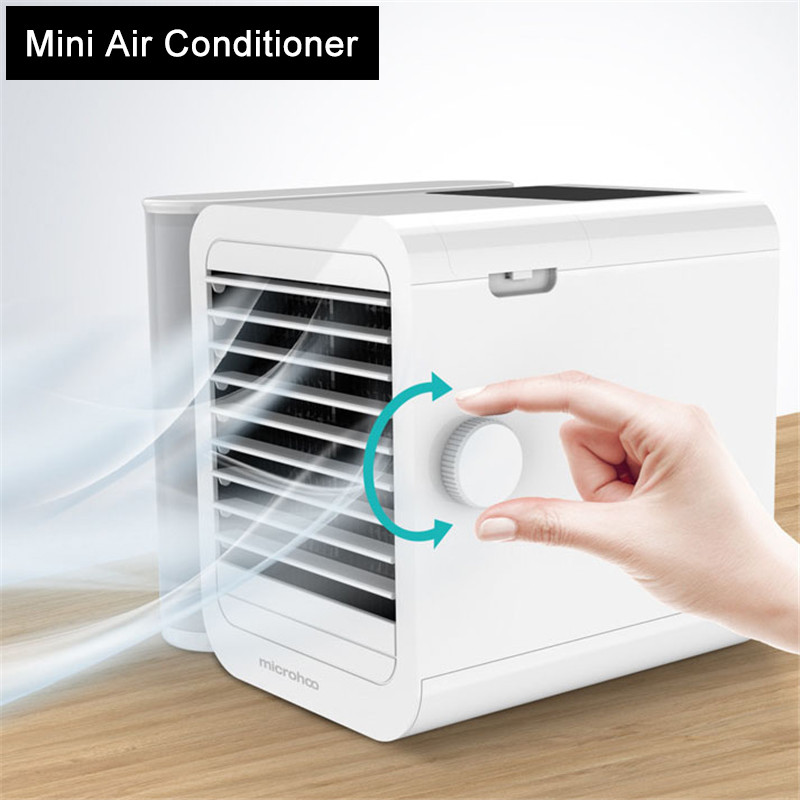 2020 Mini Air Conditioner 1000ml Water Capacity Touch-Screen Energy Saving Timing Air Conditioning Cooling Fan Home