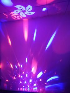 Image 5 - F & GMini RGBW 15W KTV גביש קסם כדור Led שלב מנורת DJ דיסקו לייזר אור מסיבת אורות קול מועדון חג המולד אורות