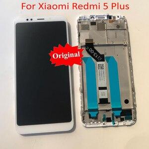 Image 3 - 100% מקורי חדש Xiaomi Redmi 5 בתוספת 10 מגע מסך Digitizer LCD תצוגת הרכבה חיישן עם מסגרת או Redmi 4 ראש 32GB