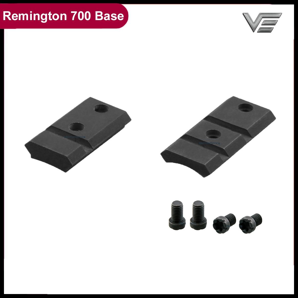 Optique vectorielle Remington 700 Picatinny monture Base courte longue en acier fait 21mm Rail