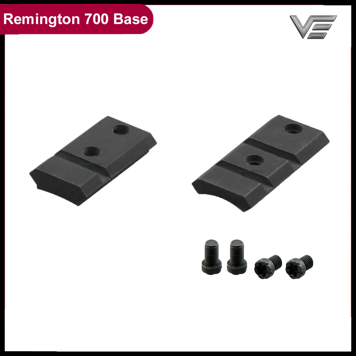 Vector Optics Remington 700 Picatinny Mount Base Short Long Steel Made 21mm Rail
