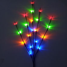 Amor/Lámpara con diseño de rama de sauce alimentado por batería rama iluminada de sauce para decoración del hogar 1PCs decoraciones de boda para el hogar LED