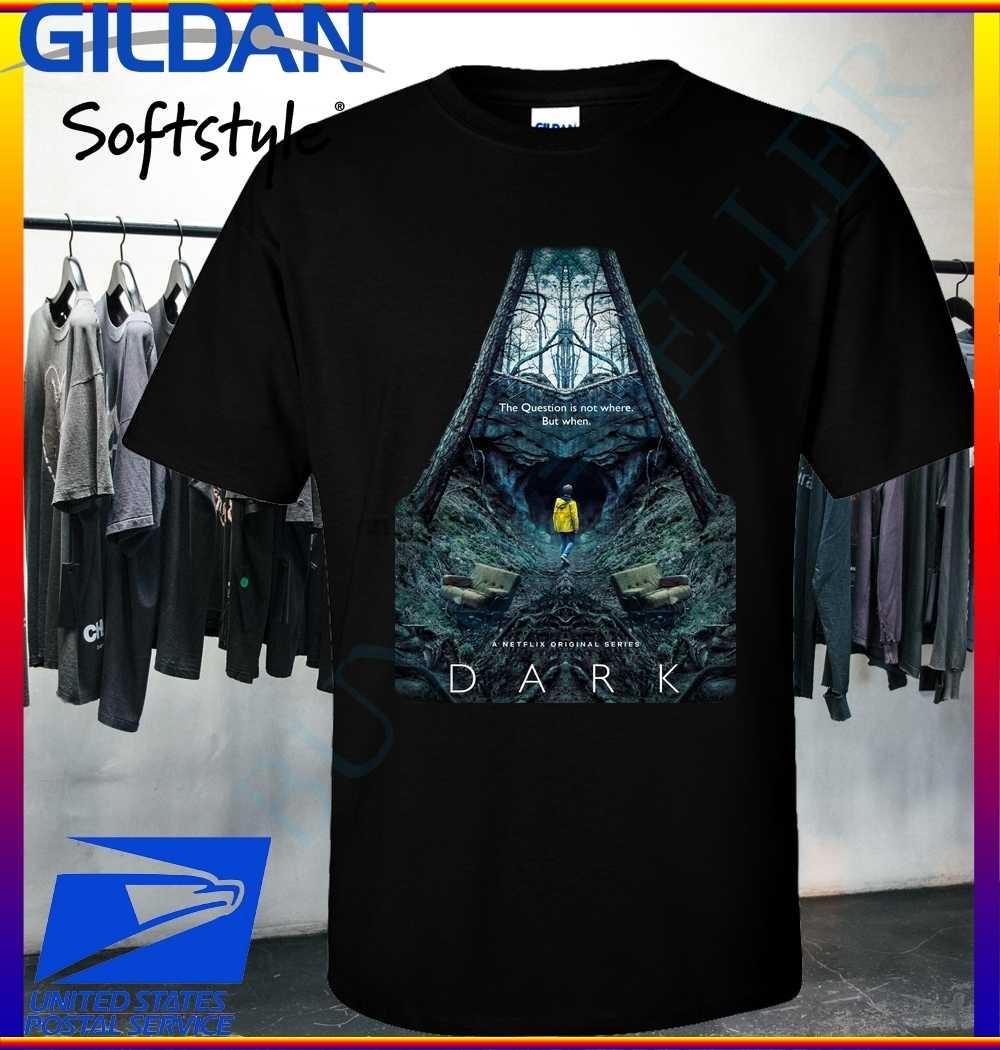 Nouveau t-shirt de télévision NETFLIX sombre S-2XL