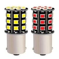 2PCS 1156 P21W BA15S 7506 R5W R10W 33 LED Auto Reverse Licht Schwanz Bremse Lampe Auto Tagfahrlicht Bulb parkplatz Licht Blinker