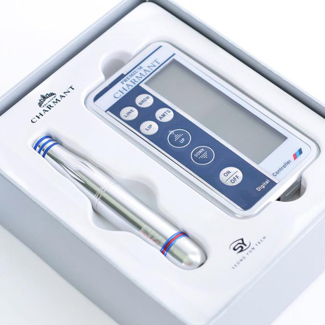 Charmant Permanent Makeup Machine Kit For Eyebrow Tattoo Lip eyeliner Microblading Pen Set dermografo Make up microblade machine 4