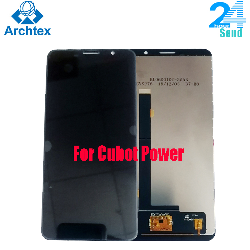 For Original Cubot Power LCD Display +Touch Screen Digitizer Assembly Replacement Parts 5.99 inch FHD+ in stock Tool+3M Adhesive