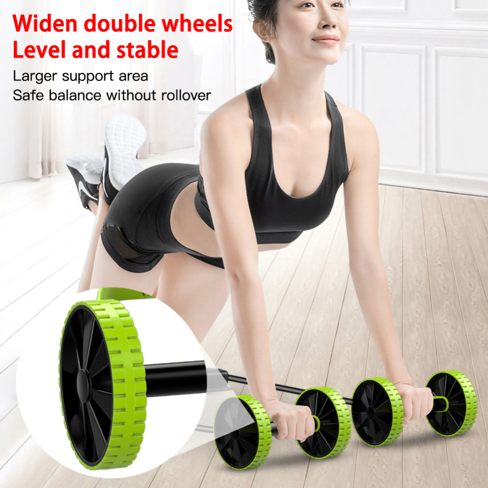 ролик для пресса Оборудование фитнеса abs роликовое колесо тренировки