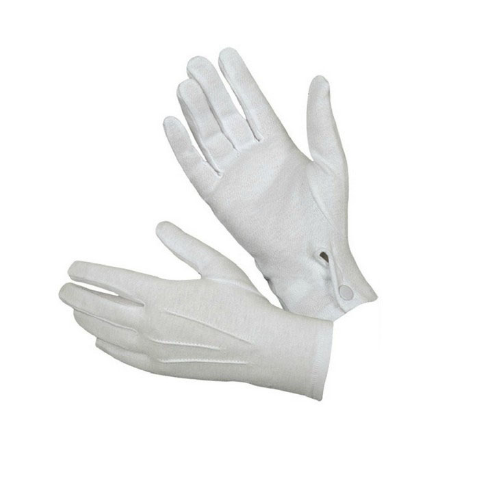 1Pair White Formal Gloves Tuxedo Honor Guard Parade Santa Men Inspection Warm Guantes Tacticos Luva Windstopper Men Gloves 10.10