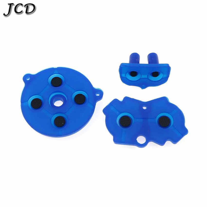JCD renkli kauçuk İletken düğmeler A-B d-pad için Nintendo GameBoy Advance GBA silikon başlangıç seçin tuş takımı