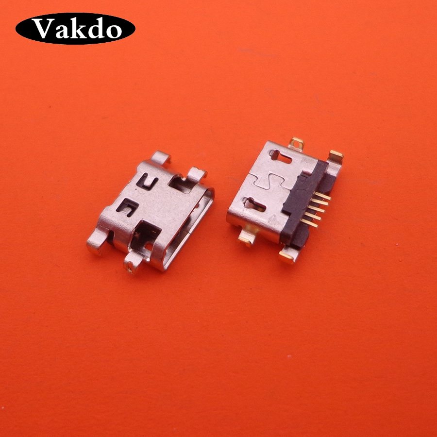 200pcs/lot For <font><b>Alcatel</b></font> <font><b>6035R</b></font> Idol S 4033 4033D POP C3 6012 mini micro usb charging connector plug dock jack socket charger port image