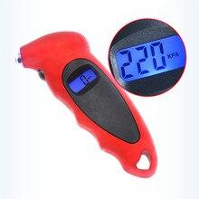 مقياس ضغط الإطارات 0 150 PSI ، مقياس ضغط الإطارات الرقمي عالي الدقة مع الإضاءة الخلفية للسيارة